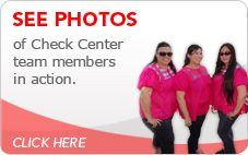 Check Center Team Photo
