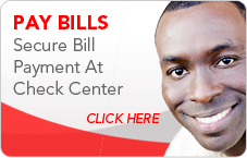Pay Bills at Check Center